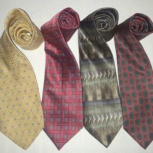 Lot of silk ties 4
